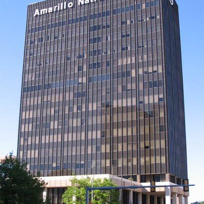 Amarillo National Bank Plaza One building in Amarillo, Texas, USA.