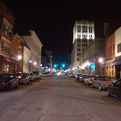 Ann Arbor, Michigan. Washington Street Toward Main Street