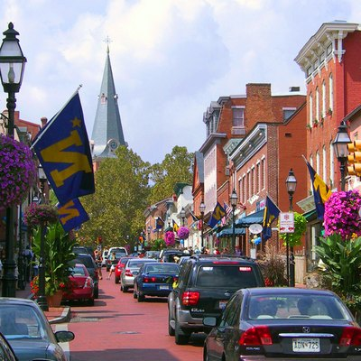 A street in Annapolis, Maryland