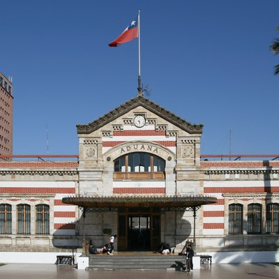 Old Customs House, Arica, Chile