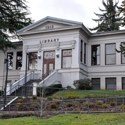 Public library in Ashland in the U.S. state of Oregon