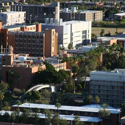 Arizona State University campus as seen from Hayden Butte