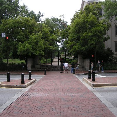 Broad Street in Downtown Athens near North Campus of the University of Georgia
