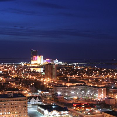 Atlantic City, New Jersey By Night