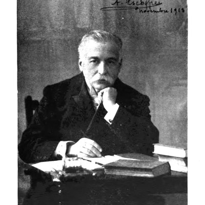 Photograph of Auguste Escoffier