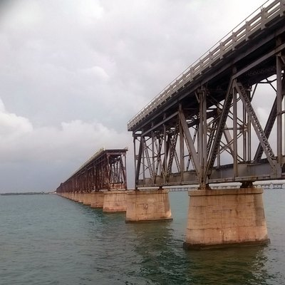 Old Railroad Bridge - Bahia Honda State Park