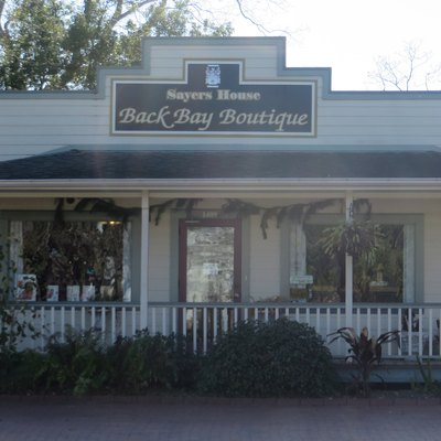 A boutique in the historic downtown section of Seabrook, Texas.