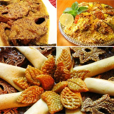 Montage Of Bangladesh Culinary Delights