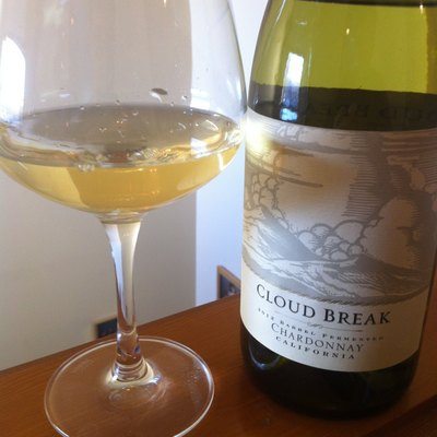 A California Chardonnay that has been barrel fermented