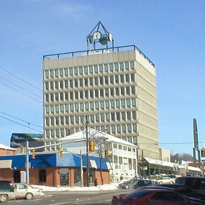 The city hall of Barrie