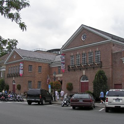 National Baseball Hall Of Fame And Museum In Cooperstown, New York. Part Of The Cooperstown Historic District.