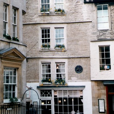 Sally Lunn's House (supposedly), North Parade Passage, Bath, England