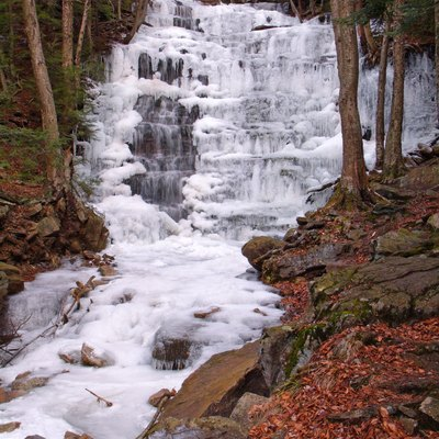 Bear Creek Falls on Bear Creek in Bear Creek Township, Luzerne County, Pennsylvania