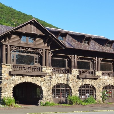 Bear Mountain Inn After The Latest Renovation Was Completed. Located In Bear Mountain State Park.