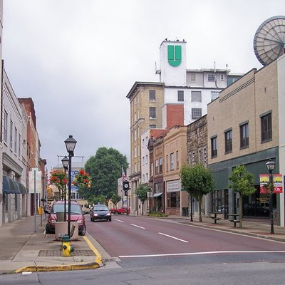 Main Street as viewed from Kanawha Street in downtown w:Beckley, West Virginia.