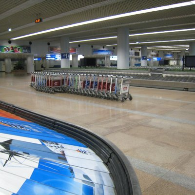 Baggage carousels at Beijing Capital International Airport Terminal 2