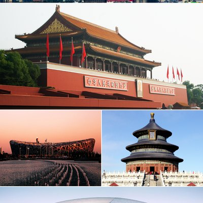 Montage of various Beijing images