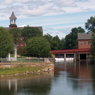 Belknap Mills Along The Winnipesaukee River In Laconia. Photo By Ken Gallager.