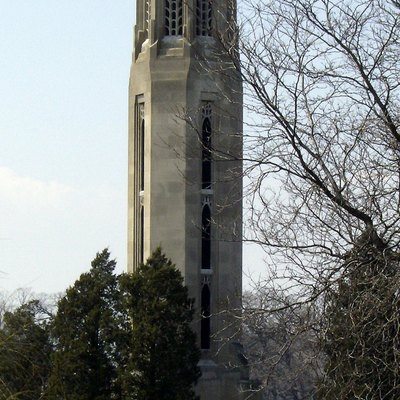 Carillon In Belle Isle Park, Detroit, Michigan, United States.