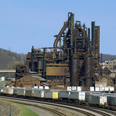 A view of the former Bethlehem Steel from the Fahy Bridge in Bethlehem, Pennsylvania. This photo was taken shortly before demolition began to make way for the Sands BethWorks casino project. Jschnalzer 23:29, 31 July 2007 (UTC)