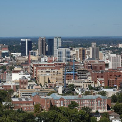 Birmingham, Alabama Skyline as seen from Red Mountain