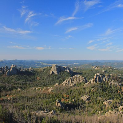 View from Harney Peak, South Dakota