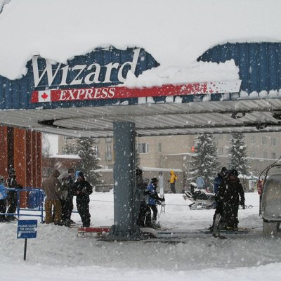 Wizard Express Lift at Whistler-Blackcomb Ski Resort