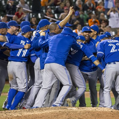 The Toronto Blue Jays clinch the 2015 American League East division