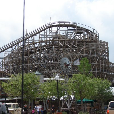 A picture of the Boardwalk Bullet on April 26, 2009.
