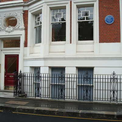 Bob Marley'S Flat At 34 Ridgmount Gardens, London. Marley Lived Here In 1972. See: Bob Marley'S London Home On The Music Pilgrimages Website, And Google Maps Location And Street View. See Also: