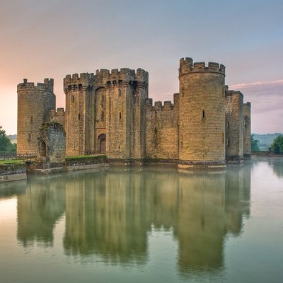 Bodiam Castle East Sussex England UK