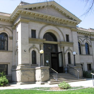 The Carnegie Library — in Boise, Idaho.
