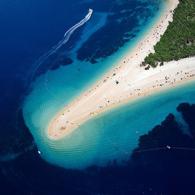 Golden Horn — Bol, island Brač in the Croatia.