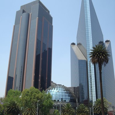 Picture of the BMV building on Reforma Ave. Mexico City