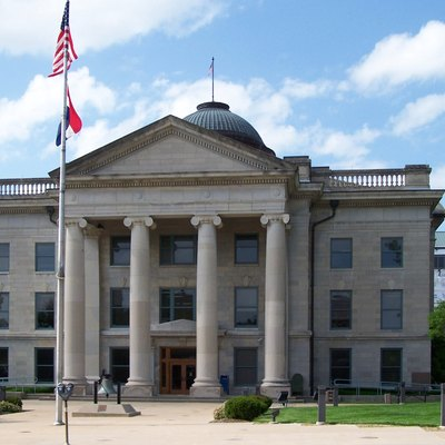 The Boone County Courthouse in Columbia, Missouri.