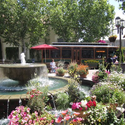 An upscale shopping center in downtown Walnut Creek, anchored by tenants, Nordstrom, Macy's, and Neiman Marcus.
