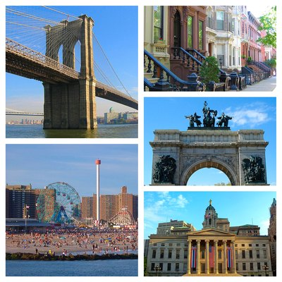 Brooklyn NY Photo Collage