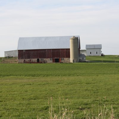 Farmland in rural Brown County