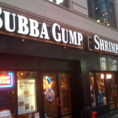 Bubba Gump Shrimp Company in New York City, New York, United States of America.