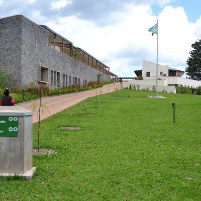 New hospital in Butaro, Burera District, Rwanda