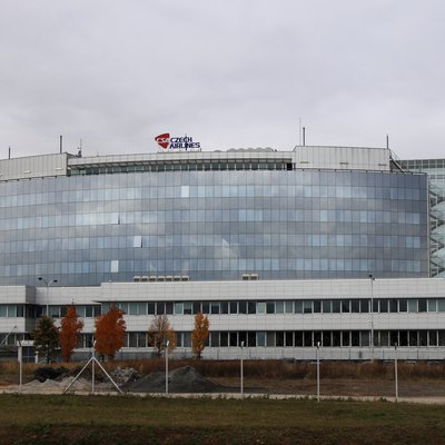 Head office of Czech Airlines in Ruzyně, Prague