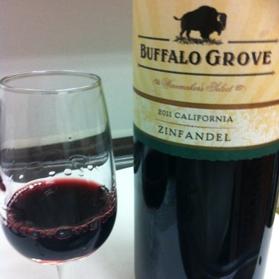Zinfandel wine from California