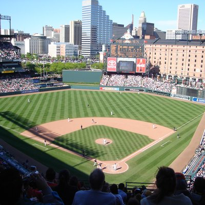 Baltimore Orioles in a May 8, 2005 photo against the Kansas City Royals. The Royals won 10-8