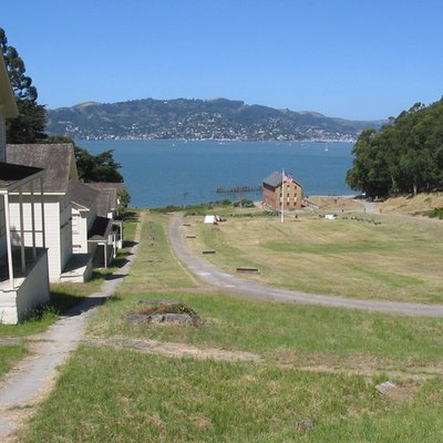 Camp Reynolds (West Garrison), Angel Island, CA. Photo by Stephen Gross, June 2005.
