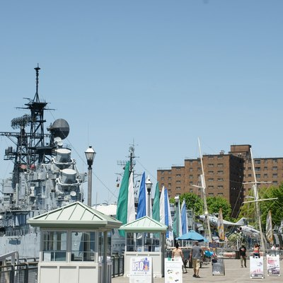 Buffalo Canalside and naval park