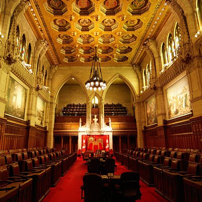 Senate Chamber, Centre Block of the Parliament of Canada