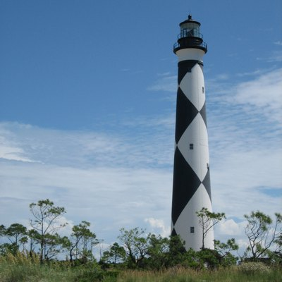 Cape Lookout Lighthouse. Taken by Brian D. Bell, Cape Lookout National Seashore, NC August 2007.