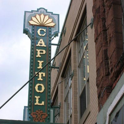 An image of the Capitol Theater in Moncton.