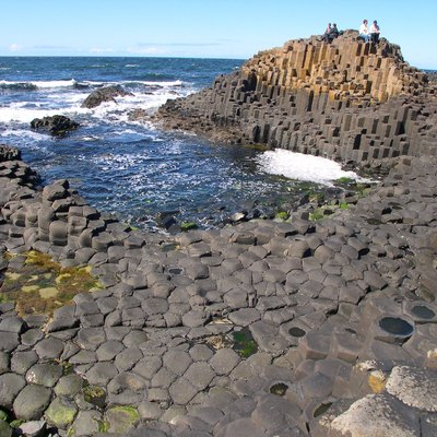 Giant's Causeway, Co. Antrim, Northern Ireland.