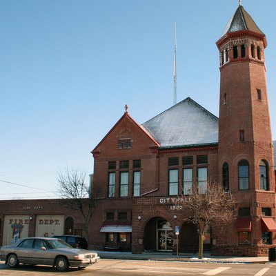 City Hall in Celina, Ohio. It is part of the Celina Main Street Commercial Historic District, which is listed on the National Register of Historic Places.